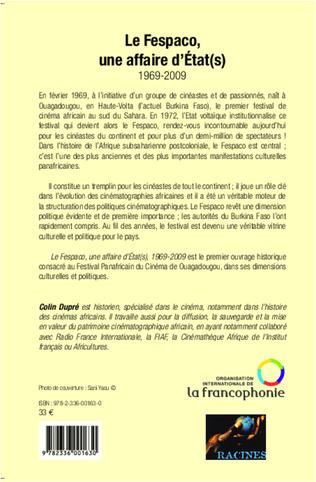 4eme Le Fespaco, une affaire d'Etat(s)