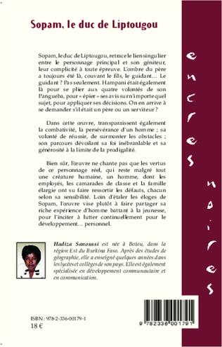4eme Sopam, le duc de Liptougou