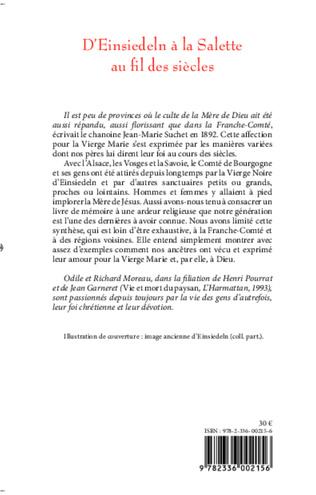 4eme D'Einsiedeln à la Salette au fil des siècles