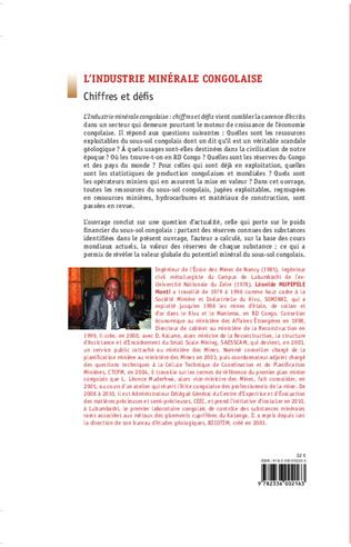 4eme L'industrie minérale congolaise