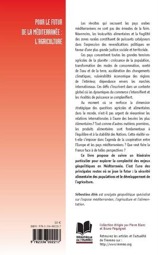 4eme Pour le futur de la Méditerranée : l'agriculture