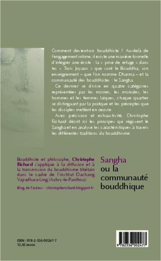 4eme Sangha ou la communauté bouddhique