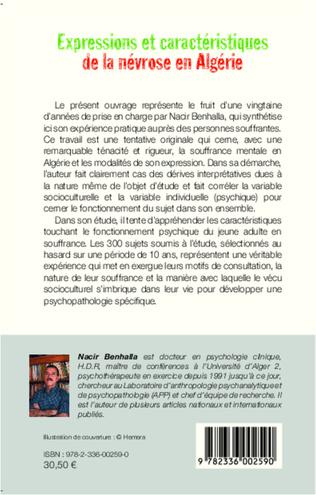 4eme Expressions et caractéristiques de la névrose en Algérie