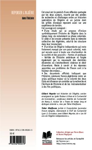 4eme Repenser l'Algérie dans l'histoire