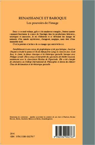 4eme Renaissance et baroque (Tome 2)