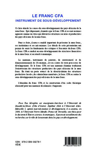 4eme Le franc CFA instrument du sous-développement