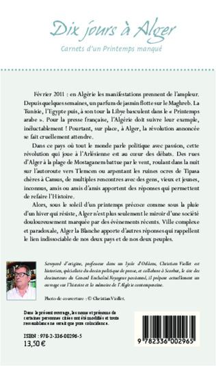 4eme Dix jours à Alger
