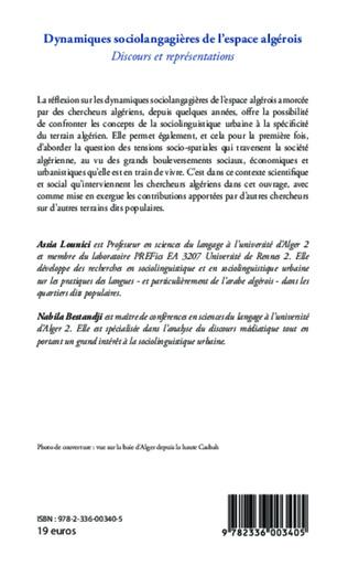 4eme Dynamiques sociolangagières de l'espace algérois