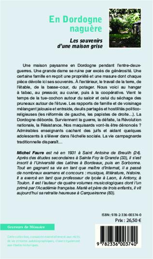 4eme En Dordogne naguère