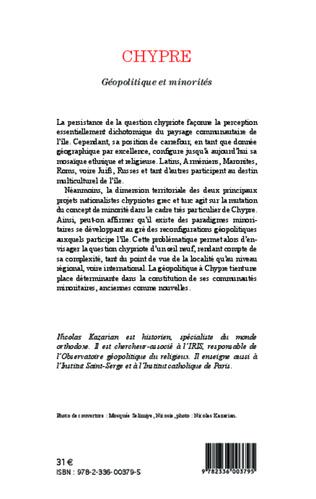 4eme Chypre Géopolitique et minorités