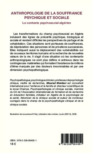 4eme Anthropologie de la souffrance psychique et sociale