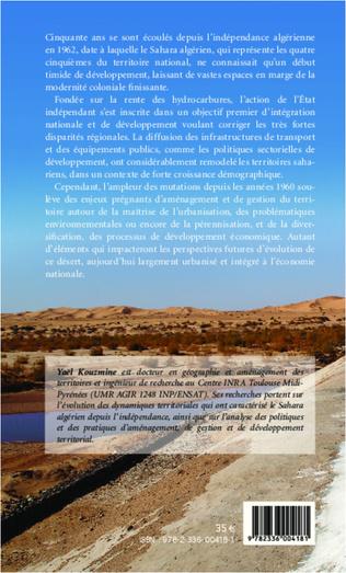 4eme Le Sahara algérien