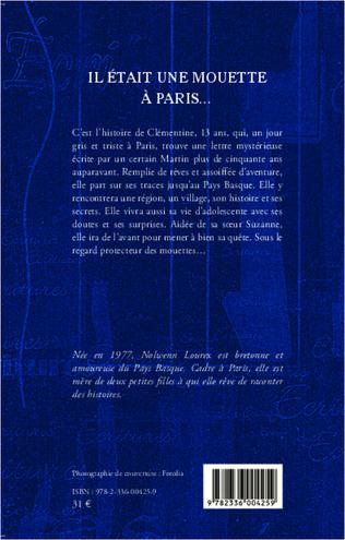 4eme Il était une mouette à Paris...