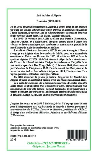 4eme Juif berbère d'Algérie