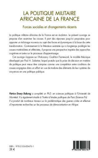 4eme La politique militaire africaine de la France