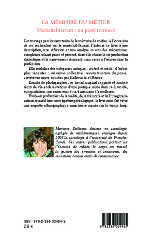 4eme Mémoire du métier