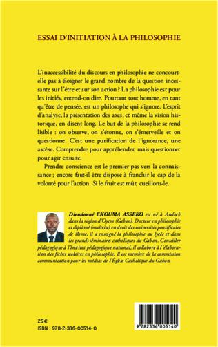 4eme Essai d'initiation à la philosophie