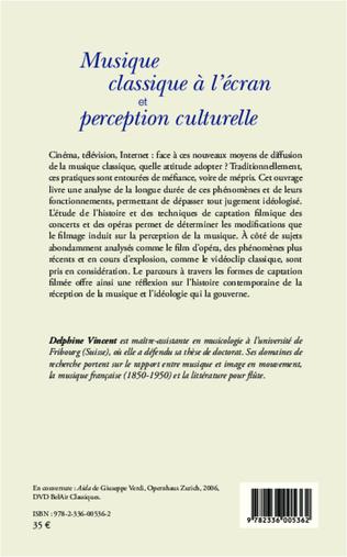 4eme Musique classique à l'écran et perception culturelle