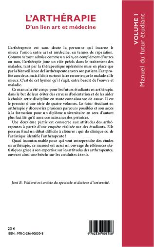 4eme L'arthérapie d'un lien art et médecine (Volume 1)