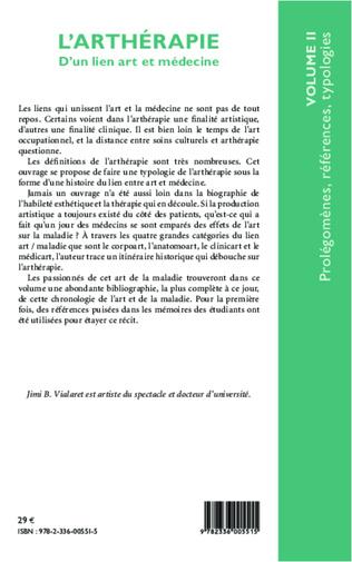 4eme L'arthérapie d'un lien art et médecine (Volume 2)