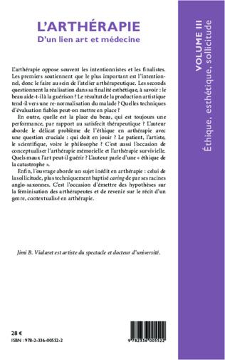 4eme L'arthérapie d'un lien art et médecine (Volume 3)