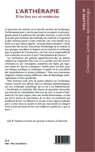 4eme L'arthérapie d'un lien art et médecine (Volume 4)