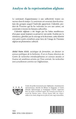 4eme Analyse de la représentation afghane