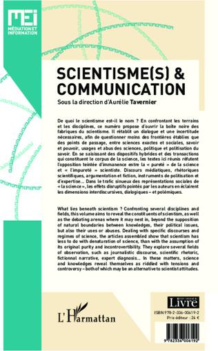 4eme Scientisme(s) et communication