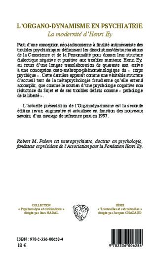4eme L'organo-dynamisme en psychiatrie