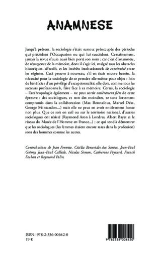 4eme Les sociologues sous Vichy
