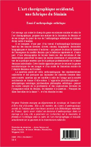 4eme L'art chorégraphique occidental, une fabrique du féminin