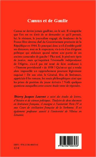 4eme Camus et de Gaulle