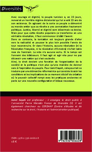 4eme La révolution tunisienne : la part du droit