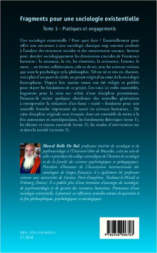 4eme Fragments pour une sociologie existentielle (Tome 3)