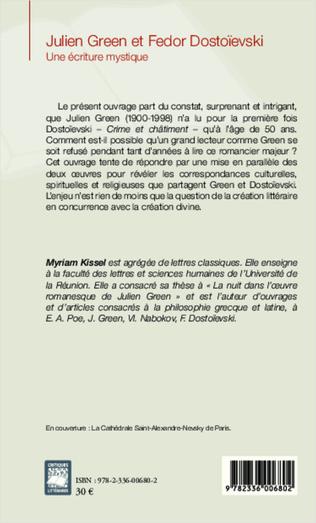4eme Julien Green et Fedor Dostoïevski