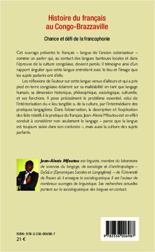 4eme Histoire du français au Congo-Brazzaville