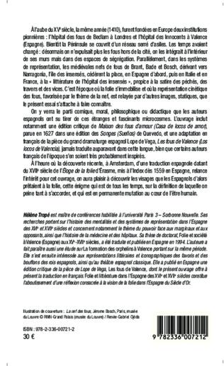 4eme Folie et littérature dans l'Espagne des XVI° et XVII° siècles