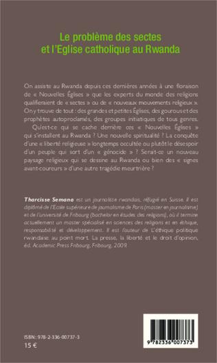 4eme Le problème des sectes et l'Eglise catholique au Rwanda