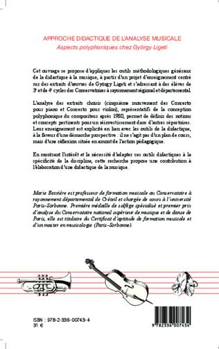 4eme Approche didactique de l'analyse musicale