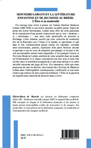 4eme Monteiro Lobato et la littérature enfantine et de jeunesse au Brésil