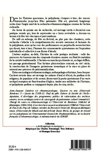 4eme La polyphonie dans les Pyrénées gasconnes