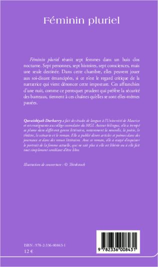 4eme Féminin pluriel