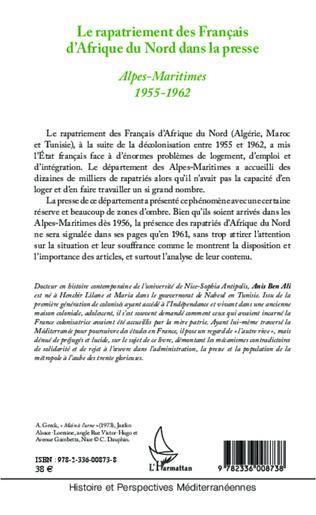 4eme Le rapatriement des Français d'Afrique du Nord dans la presse