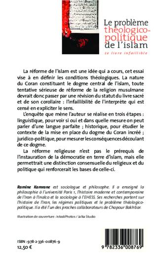 4eme Le problème théologico-politique de l'islam