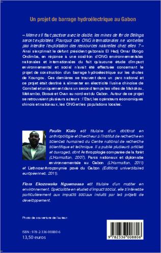 4eme Un projet de barrage hydroélectrique au Gabon