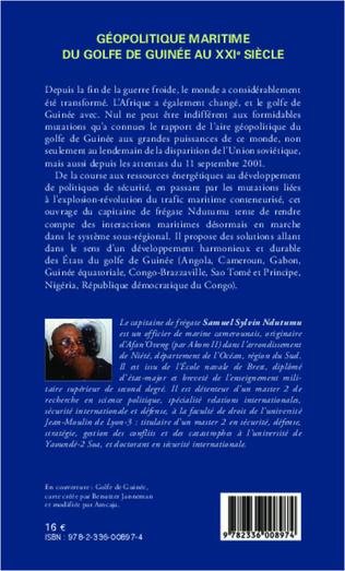 4eme Géopolitique maritime du golfe de Guinée au XXIe siècle