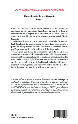 4eme La philosophie classique africaine