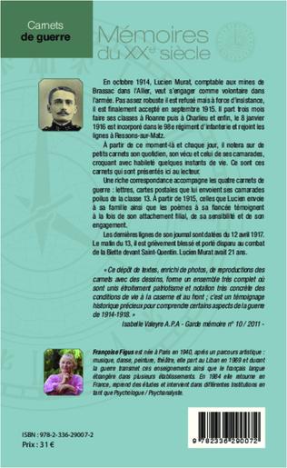 4eme Carnets de guerre et correspondances 1914-1918