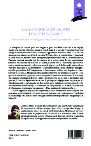 4eme La Mongolie en quête d'indépendance