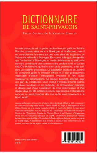 4eme Dictionnaire de saint-privaçois